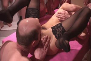 Private Amateur Gangbang Party