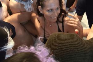 Tabuloser Gruppen Sex mit reifer Frau