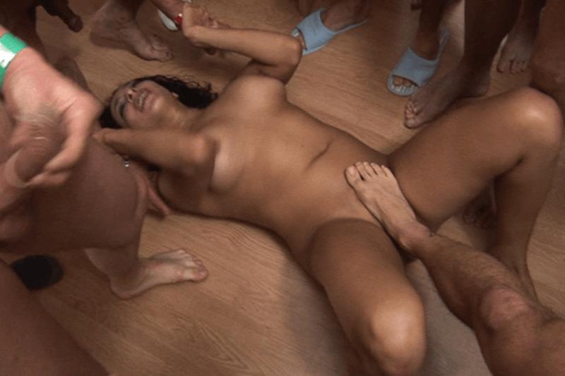 gangbang hardcore pornos