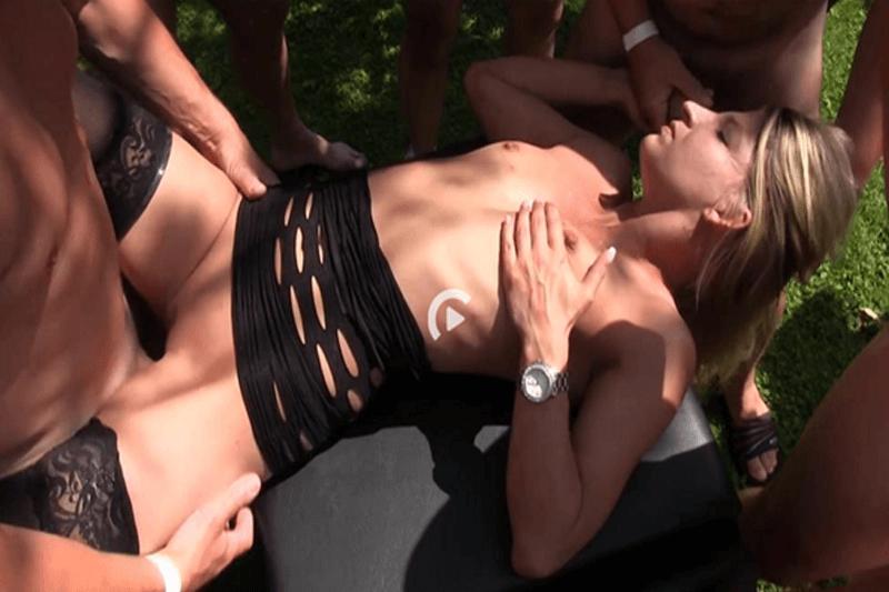 Versauter Gruppen Sex im Freien mit Sexkontakten aus dem Internet